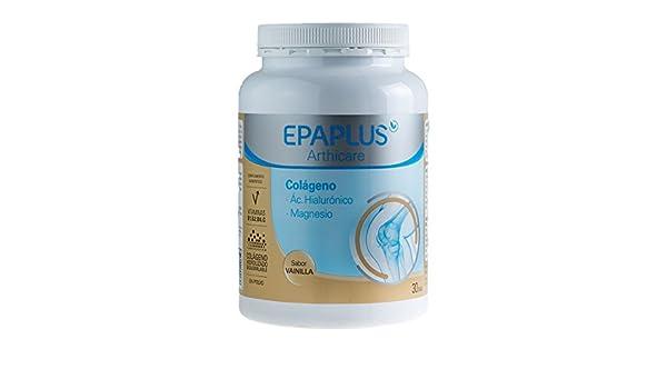 Epaplus Colageno+Hialurónico+Magnesio Vainilla 325 gr.: Amazon.es: Salud y cuidado personal