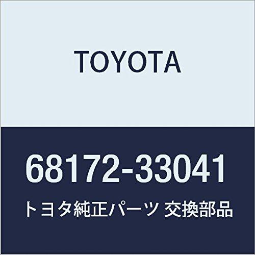 TOYOTA Genuine 68172-33041 Door Glass Weatherstrip