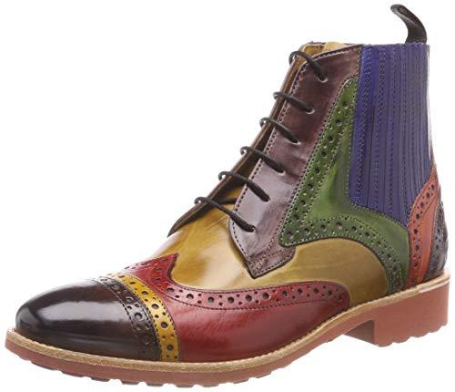 Hamilton Melvin Crust Boots Mogano Multicolore Chelsea Amelie 1 17 OTaU6qgdw