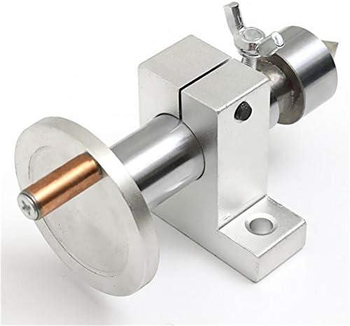 Metalldrehwerkzeughalter, Werkzeugzubehör Einstellbare Drehzentrum DIY, Doppellager for kleine Drehmaschine Holzbearbeitungswerkzeuge