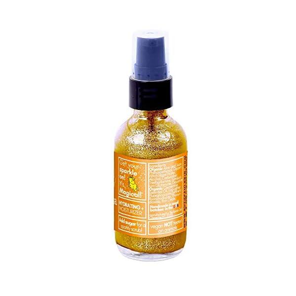 Unicorn Sparkles Eco Glitter Gel. Make up for Face Eyes Lips Body Shimmer, Hair. Glitter Face Mask. Moisturizing Aloe… 9