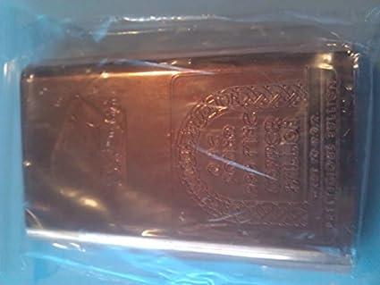 1 Pound  999 Fine Copper Bullion Bar, Great Price for Investing