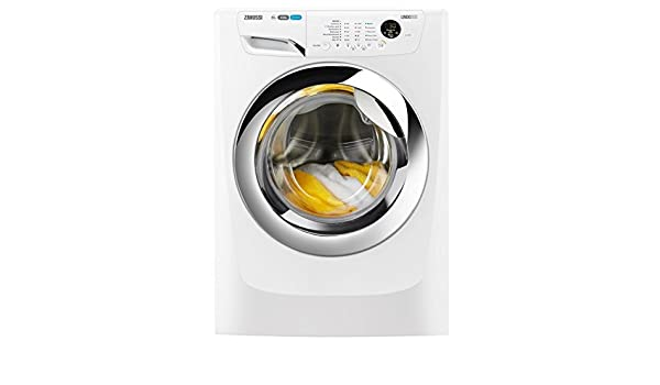 Zanussi ZWF01483WH Freestanding 10kg 1400RPM A+++ White Front-load ...