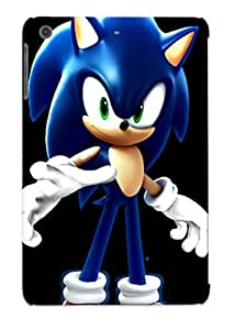 Fashion Tpu Case For Ipad Mini/mini 2- Wreck It Ralph Onic The Hedgehog By Redshadowii Defender Case Cover