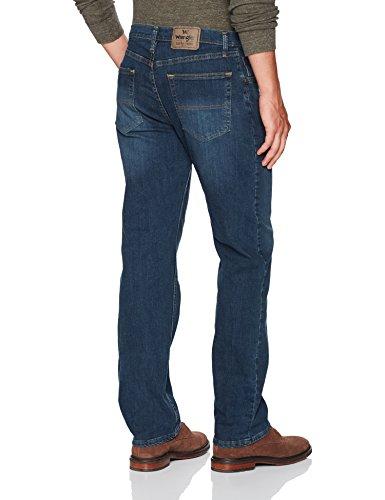 Wrangler Men's Classic Regular-Fit Jean, Twilight Flex, 42X29