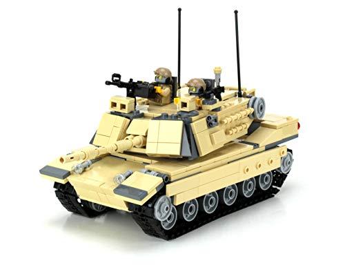 Battle Brick Expert M1a2 Abrams Main Battle Tank Custom Set ()