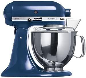 KitchenAid Artisan KSM150PS - Robot de cocina, colore azul [Importado de Francia]: Amazon.es: Hogar