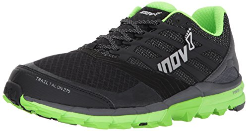 Inov-8 Men's Trailtalon 275 Sneaker, Black/Green, M9.5 E US (Rugby Cross England)