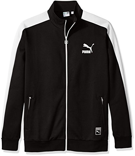 PUMA Men's Archive T7 Track Jacket, Puma Black, X-Large