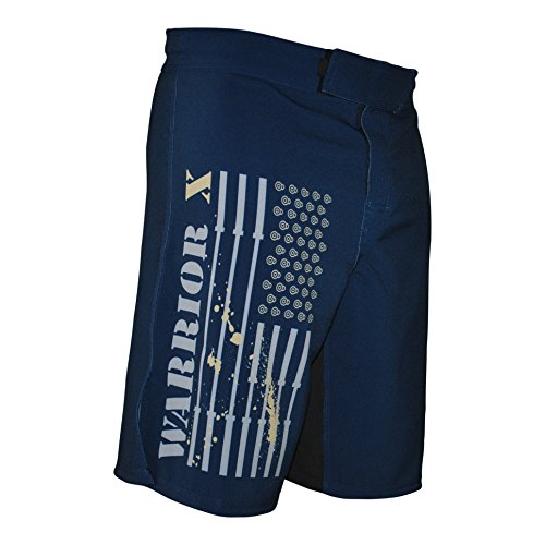 Pro WOD Performance Shorts (Navy/Gold, 34)