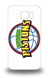 Waterdrop Snap On NBA Detroit Pistons Logo 3D PC Case For Galaxy S6 ( Custom Picture iPhone 6, iPhone 6 PLUS, iPhone 5, iPhone 5S, iPhone 5C, iPhone 4, iPhone 4S,Galaxy S6,Galaxy S5,Galaxy S4,Galaxy S3,Note 3,iPad Mini-Mini 2,iPad Air )