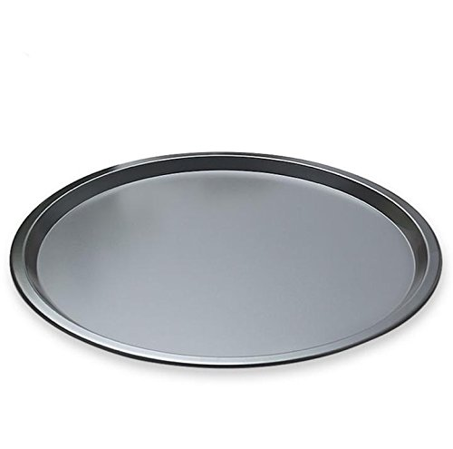 MBB Carbon Steel Pizza Pan Tray Bakeware Non Stick Black For 12