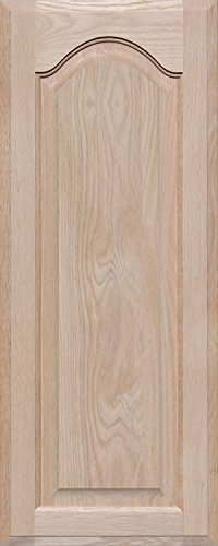 Unfinished Oak Arch Top Cabinet Door by Kendor, 30H x 12W by Kendor