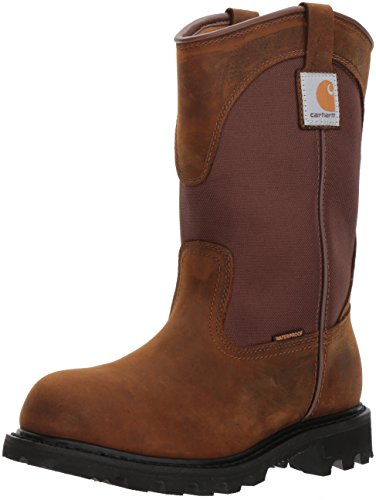 (Carhartt Women's CWP1150 Work Boot,Bison Brown Oil Tan,9 M US)