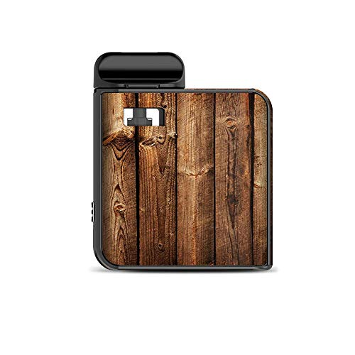 IT'S A SKIN Decal Vinyl Wrap Compatible with Smok Mico Kit/Wood Panels Cherry Oak