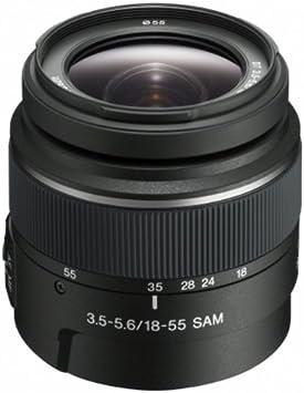 Sony SAL1855 - Lente de cámara Digital con Montura Tipo A, DT 18 ...