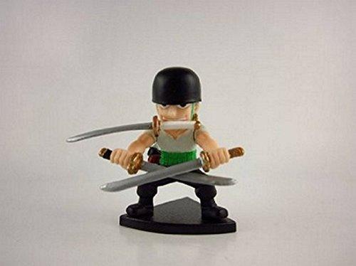 Dragonball Z x One Piece x Naruto Invincible 3x3 Mini Figure Approx 1 Inch - Zoro -43509