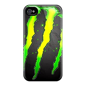 New Arrival Cover Case With Nice Design For Iphone 4/4s- Monster Hd