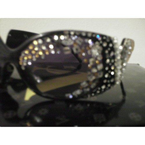 Frame Crystal Sun Crystal Frame Rhinestone Glasses Eqwq0Cr