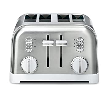 Amazon Cuisinart CPT 180W Metal Classic 4 Slice Toaster