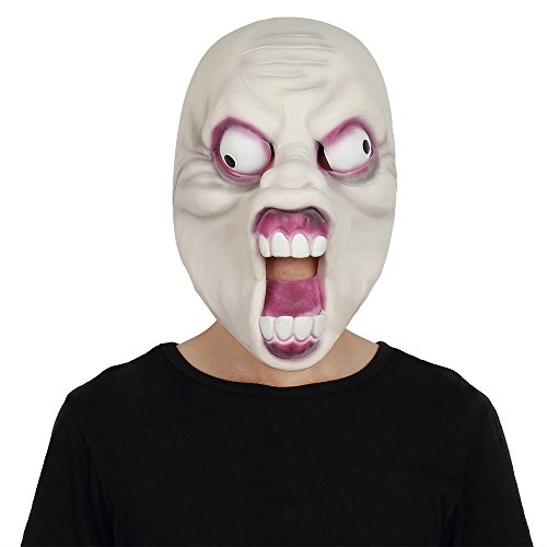 Strange Dr Costume Modern (Super Scary Halloween Mask Alien Ghost Zombie Pop Eyes Horror Decoration Fancy)