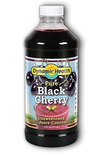 Dynamic Health Black Cherry Juice Concentrate - 16 Fl Oz (Best Cure For Flu Like Symptoms)