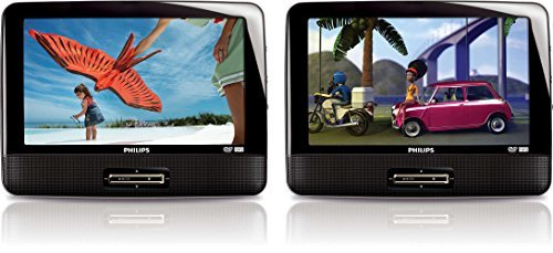 9 dual screen portable dvd player - 4