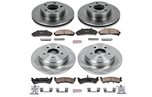 Autospecialty KOE1861 1-Click OE Replacement Brake Kit
