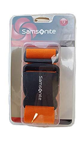 Samsonite Luggage Strap (Juicy Orange)
