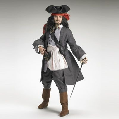 Captain Jack SparrowTM Figure by Robert Tonner