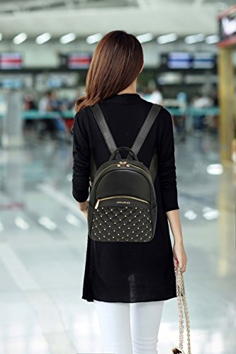 Backpack LeahWard Holiday Girls Black For Backpack Fashion Fashion Bag Women's Travel Handbags 832 trzqwr
