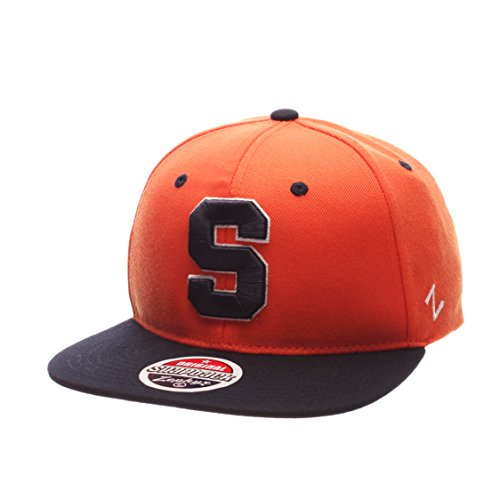(Zephyr NCAA Syracuse Orange Men's Z11 Snapback Hat, Adjustable Size, Team Color)