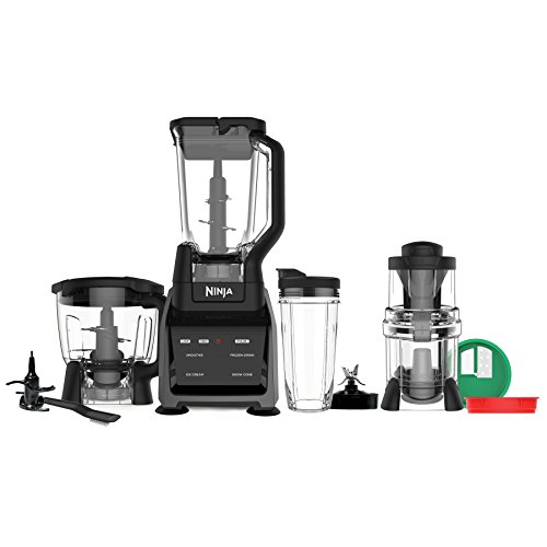 Ninja CT682SP Intelli-Sense Kitchen System with Auto-Spiralizer, Black