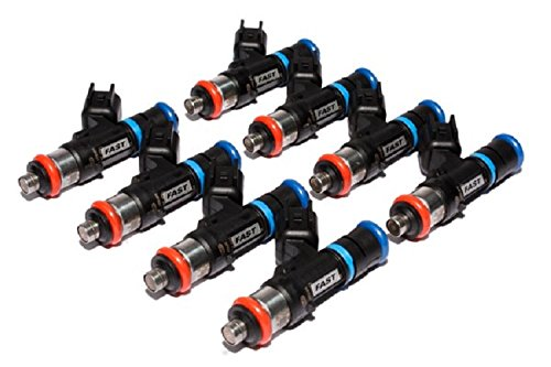 FAST 30332-8 Precision-Flow 33 lb/hr 346.5cc/min High-Impedance Fuel Injector for LS2, (Set of 8)