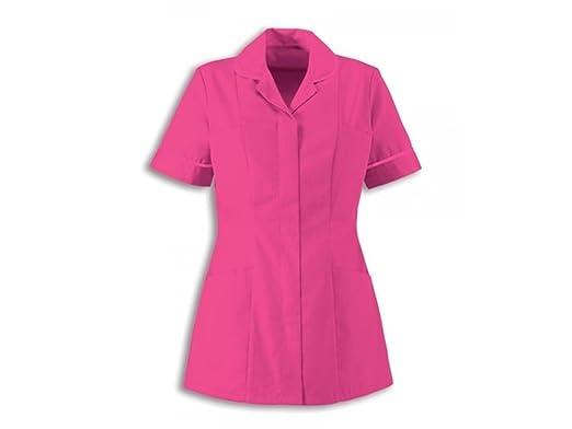 af70275e90c Alexandra Traditional Ladies Women Nursing Tunics NHS Health Medical Care ( 20, Bright Pink/Bright Pink): Amazon.co.uk: Clothing