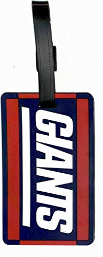aminco NFL New York Giants Soft Bag Tag