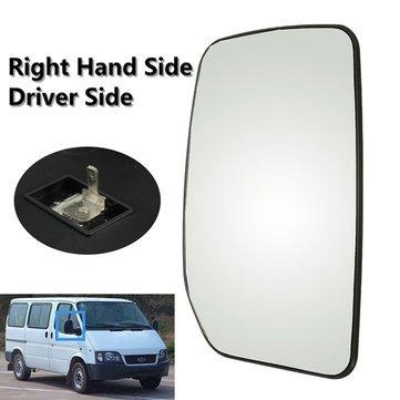 Left Passenger Side Ford Transit Van 2000-2013 Convex Wing Mirror Glass