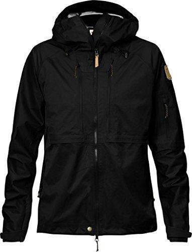 Fjällräven Mujer Keb Eco de Shell Jacket W Hardshelljacke Black (550)