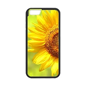 Beautiful And Colorful Sunflower TPU Covers Cases Accessories for Apple iPhone 6 5.5 Inch