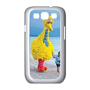 Big Bird Image On The Samsung Galaxy s3 9300 White Cell Phone Case AMW898230