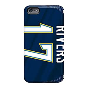 Apple Iphone 6 BQT26787CsTo Support Personal Customs Fashion San Diego Chargers Series Protector Hard Phone Cover -LeoSwiech