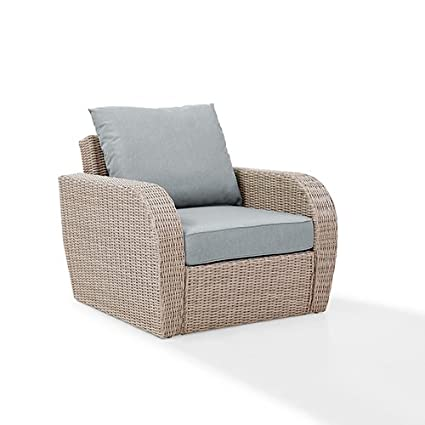 Image Unavailable. Image not available for. Color: Crosley Furniture Outdoor  ... - Amazon.com : Crosley Furniture Outdoor Wicker Arm Chair With