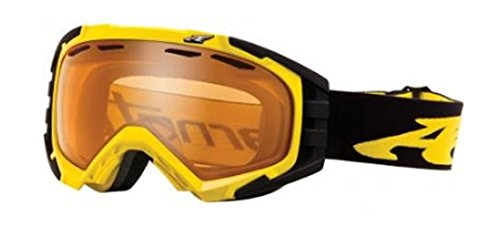 ARNETTE MERCENARY SNOW GOGGLES AN5002 FOR SKIING AND SNOWBOARDING (Bright Yellow w/ Persimmon - Goggles Arnette Ski