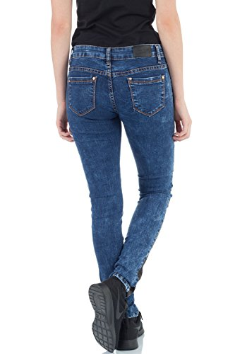 malucas para Vaqueros Mujer Skinny Azul 0ZSgq01