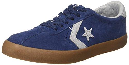 Converse Breakpoint OX, Zapatillas Unisex Niños Blau (Navy/Wolf Grey/Gum)