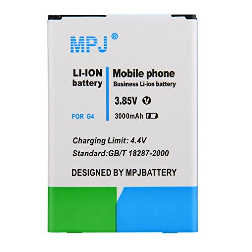 LG G4 Battery, MPJ 3000mAh Li-ion Replacement Battery For LG G4, H815, H810, H811, LS991, VS986, US991