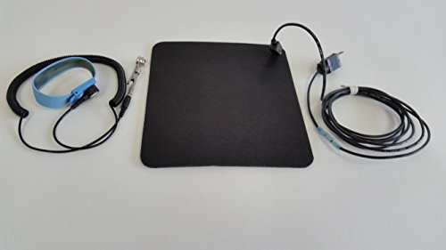 Anti Static Mouse Pad with Anti-static Wrist Band