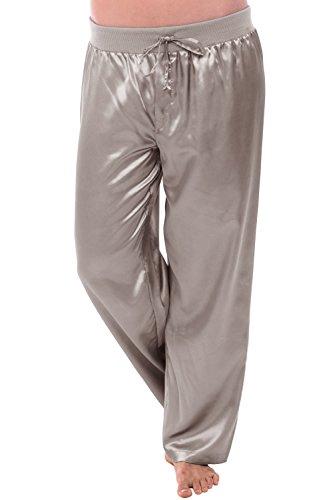 del-rossa-womens-satin-pajama-pants-silky-pj-bottoms-xl-mercury-a0751mrcxl