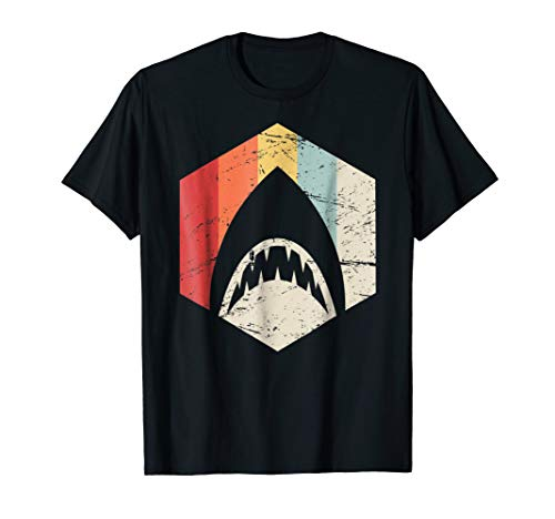 Retro Great White Shark T-Shirt