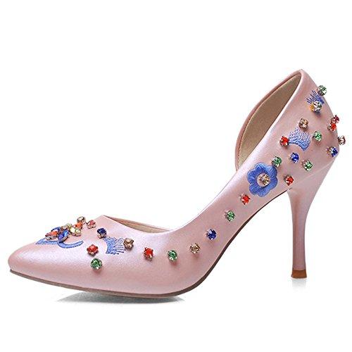 Nine SevenCourt Pumps - Zapatos de Tacón mujer Rosa